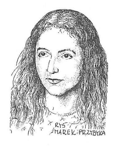 Katarzyna Młynarczyk, rys. Marek Przybyła