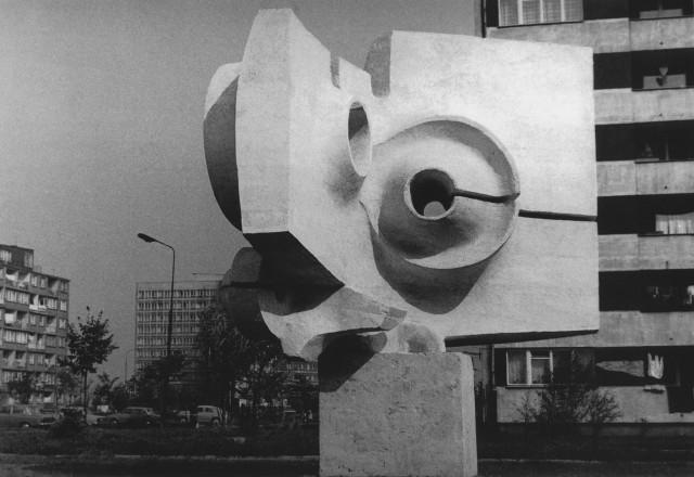 Stefan Borzęcki, rzeźba plenerowa Kosmosonda.